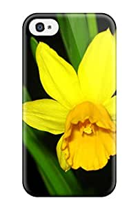 Best Hot Case Cover Protector For Iphone 4/4s- Yellow Flowers 7957804K71274648