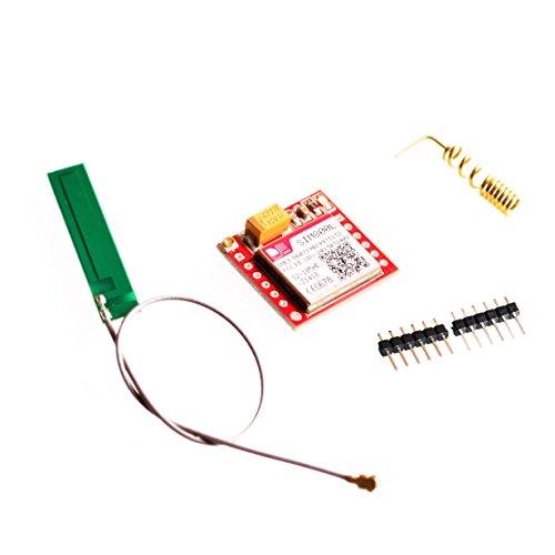 Smallest SIM800L GPRS GSM Module MicroSIM Card Core BOard Quad-band TTL Serial Port with the antenna