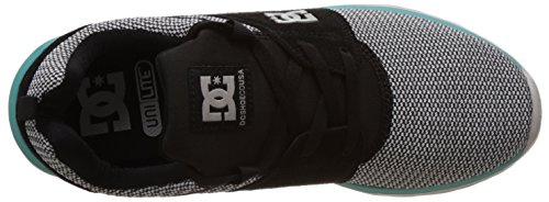 DC Shoes, HEATHROW SE M SHOE - Zapatillas para hombre Gris / Negro / Verde