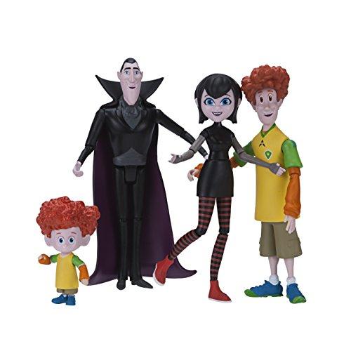 Hotel Transsilvanien 98022 dracs Figura Pack (Mavis, Drac, Johnny, Dennis), unisex de niños: Amazon.es: Juguetes y juegos