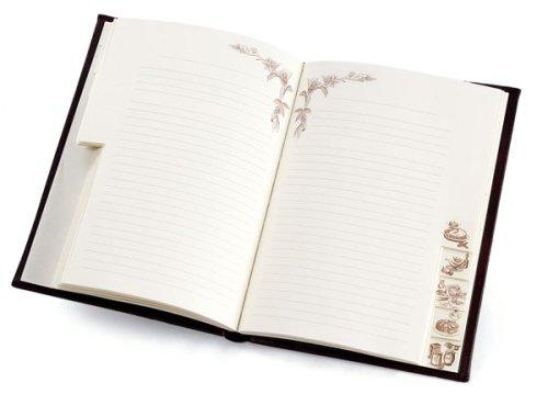 Epica Handmade Italian Leather Recipe Book by EPICA