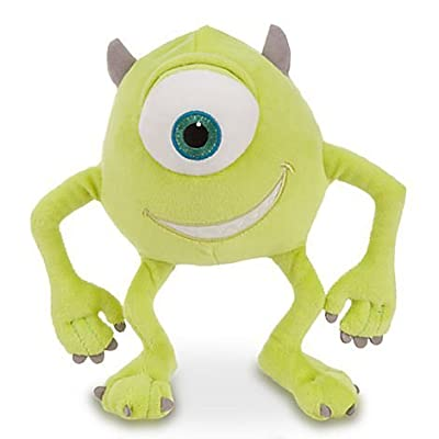 Disney Pixar Monsters, Inc Deluxe Mike Wazowski Plush - 8\'\' H: Toys & Games [5Bkhe0300822]