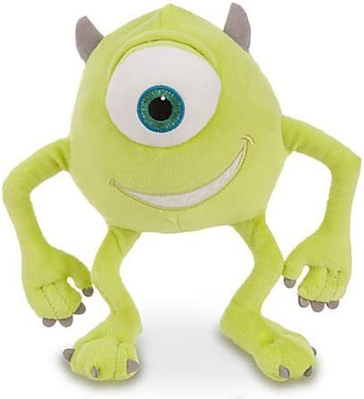 Disney Pixar Monsters, Inc Deluxe Mike Wazowski Plush - 8 H by ...