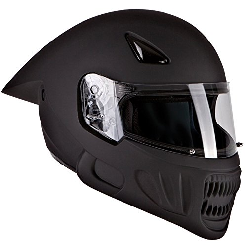 Alien Motorcycle Helmet - 3