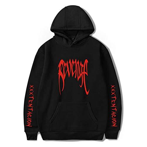 ZAWARA Unisex Xxxtentacion Hoodies Cool RIP Hip Hop Revenge Sweater Pullover Hooded ()