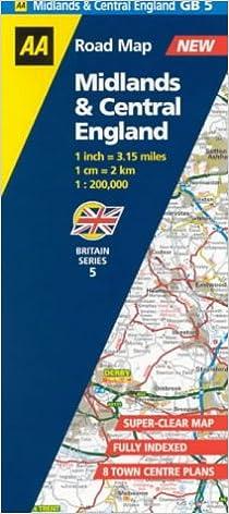 Midlands /& Central England 5. Midlands /& Central England Road Map