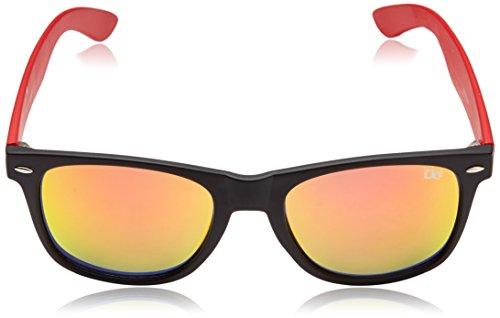 Dice Lunettes de soleil Taille unique Clear/Hot Red Q8Irs