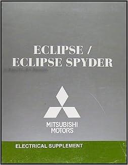2008 Mitsubishi Eclipse & Spyder Wiring Diagram Manual Original: Mitsubishi:  Amazon.com: BooksAmazon.com