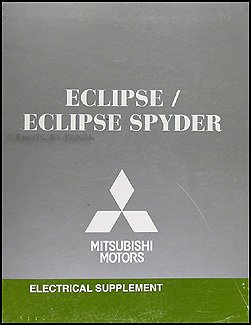 2008 mitsubishi eclipse & spyder wiring diagram manual  2008 mitsubishi eclipse wiring diagram #8