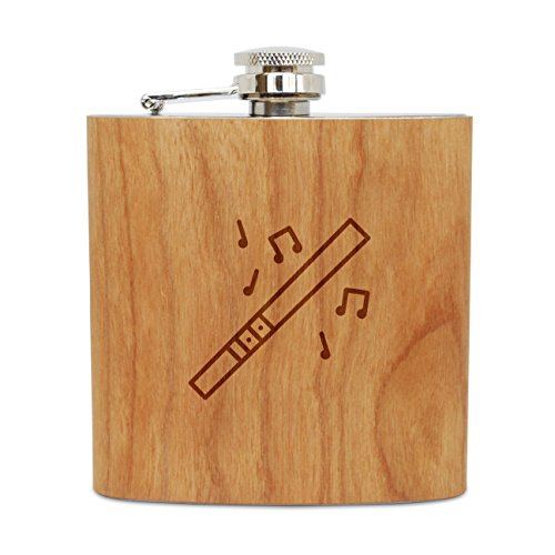 Wooden Accessories Company Stainless Steel Flask       Want a more rustic flask for your drink? This wood flask provides a stylish twist to your regular liquor flasks. It is highly durable thanks to its stainless steel interior and cherry woo...