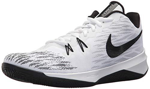 Zoom Black Evidence NIKE Ii 100 white Shoes Men White White Basketball 's BwwqZ1