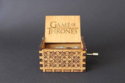 Caja de música de madera grabada – Tema Juego de Tronos ...