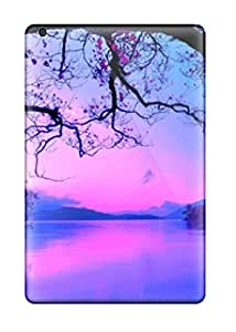 Slim Fit Tpu Protector Shock Absorbent Bumper Rivers 038 Nature Backgrounds Case For Ipad Mini/mini 2