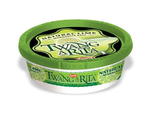 Twang A Rita Classic, Lemon Lime & Natural Lime Margarita Salt (Natural Lime, 3 Pack)