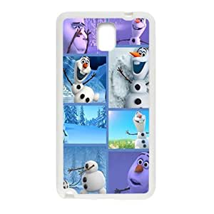 Frozen lovely happy snow man Cell Phone Case for Samsung Galaxy Note3 by Maris's Diary
