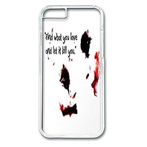 ¿iPhone 6 funda, absorción de los protector y anti-a los arañazos suave translúcido edge a prueba de arañazos diseño de PC para iPhone 6 (11,94 cm) buytra ê? Joker Harley Quinn Love digital diseño de con texto en inglés