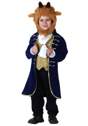 Fun Costumes Little Boys' Beast Velvet Jacket Costume Set 4T Blue -