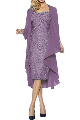 Victory Bridal - Robe - Crayon - Femme -  violet - 50