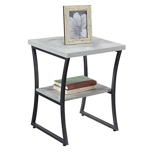 Convenience Concepts X-Calibur End Table, Faux Birch