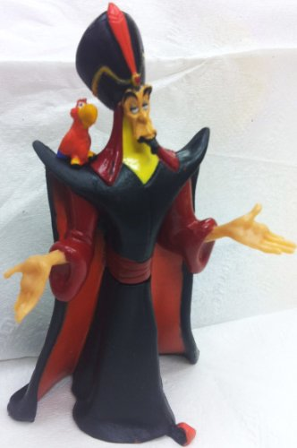Disney Aladdin, Jafar Petite Doll Cake Topper Figure, Style May ()