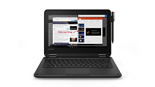 "300e Winbook  11.6"" Touchscreen LCD 2 in 1 Notebook - Intel Celeron N3450 Quad-core (4 Core) 1.10 GHz - 4 GB - Lenovo 81FY000TUS"