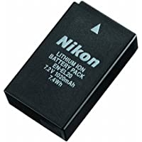 Nikon replacement EN-EL20 Li-ion Battery compatible with Nikon MH-27 Coolpix A 1AW1 1J1 1J2 1J3 1S1 1V3 and Blackmagic Pocket Cinema Camera
