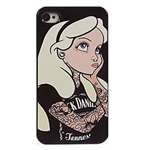 PEACH Women Want to Things Design Aluminum Hard Case for iPhone 5/5S