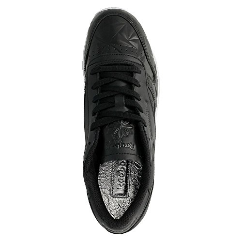 Reebok Classic Leather Hype Metallic Donna Sneaker Nero