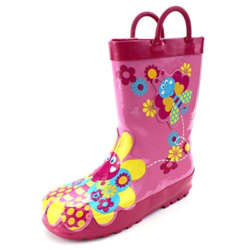 Butterfly Girls Boots Toddler Little