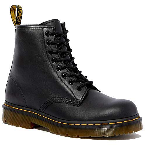 Dr. Martens - Unisex 1460 Slip Resistant Service Boots, Black, 9 US Women/8 US Men