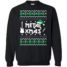 Dolphintee Ugly Sweatshirt Christmas 2018 Heavy Metal Funny Gift