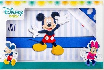 Disney Mickey Mouse composè Cuna 3 Piezas BIANCO rojo