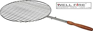 Parrilla de acero inoxidable para parrilla Chimenea Astra (redondo) D = 50cm/WellFire
