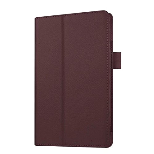 Photo - For Kindle accessories,Kshion Leather Case Stand Cover Shockproof Protective Case Cover [Anti Slip] for Amazon Kindle Fire HD 7 2015 Tablet (Brown)