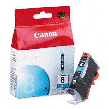 (Canon® CLI8 4-Color Multipack, CLI8BK, CLI8C, CLI8G, CLI8M, CLI8R, CLI8Y Ink Tank INKCART,CLI-8C,CYN (Pack of5))
