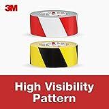 3M Hazard Marking Duct Tape, Red & White, 1.88