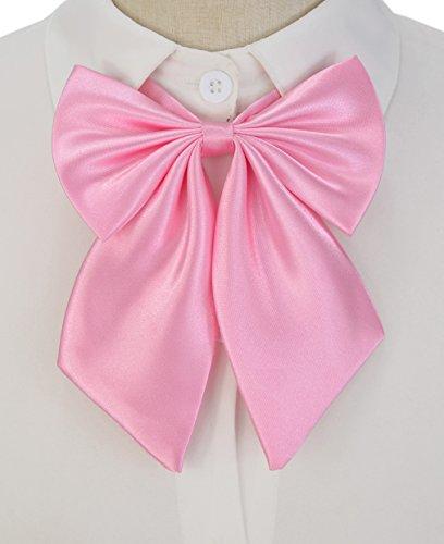 SYAYA Ladies girl Party Adjustable Pre-tied womens Bow Tie Solid Color Bowties for Women ties WLJ06 -