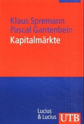 Kapitalmärkte (Uni-Taschenbücher M)