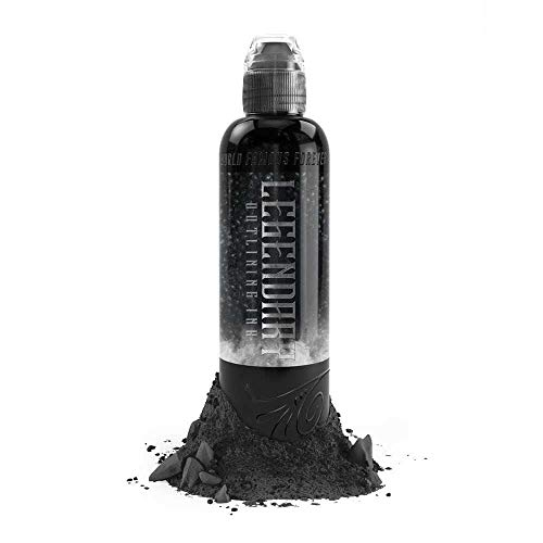 World Famous Tattoo Ink - 8oz Legendary Outlining Ink (Tattoo Famous World Ink)