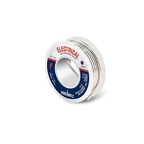 BernzOmatic LRC464 4 oz. 60/40 Lead Bearing Rosin Core Solder (Core Bearings)