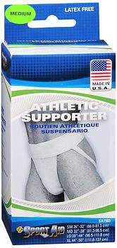 Sport Aid Athletic Supporter Medium - 1 ea., Pack of 6 by SportAid