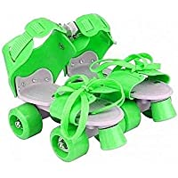 Dry Roller Skates for Kids Boys Girls for 5 Years to 10 Years, Skating with Adjustable Size