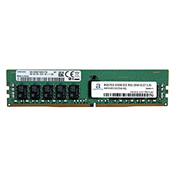 Image of Adamanta 8GB (1x8GB) Server Memory Upgrade Compatible for Dell Poweredge & HP Proliant Servers DDR4 2400MHZ PC4-19200 ECC Registered Chip 1Rx4 CL17 1.2V DRAM RAM Memory