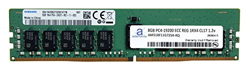 Samsung Original 8GB (1x8GB) Server Memory Upgrade for Dell Poweredge & HP Proliant Servers DDR4 2400MHZ PC4-19200 ECC Registered Chip 1Rx4 CL17 1.2V DRAM (Poweredge 2400 Server)