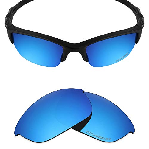 b9d125ba31 Mryok+ Polarized Replacement Lenses for Oakley Half Jacket 2.0 - Ice Blue