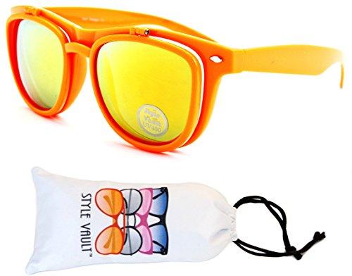 W111-vp Style Vault Flip up Wayfarer Django Sunglasses