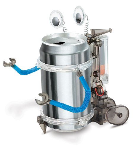 Inexpensive Tin Can Robot Kit