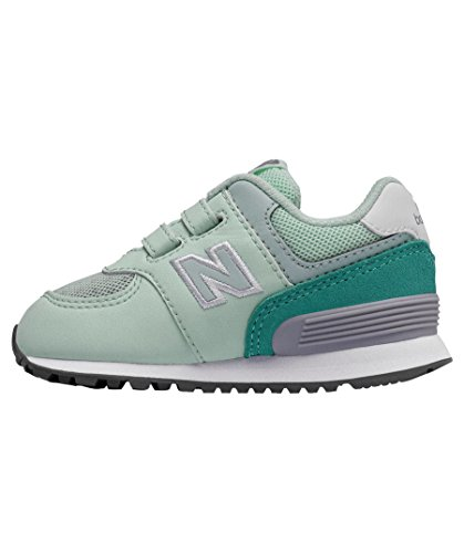 New Balance Mädchen Kleinkind-Sneakers 574 Day and Night Mint