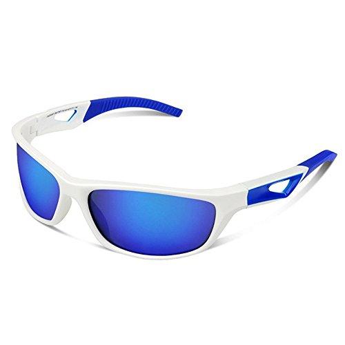 Couleur Équitation Conduite Lunettes Yeux De Pêche Lunettes LBY Soleil Coupe Sports Blanc Polarisées pour de Homme UV Noir Alpinisme Vent Lunettes Soleil SnBxH