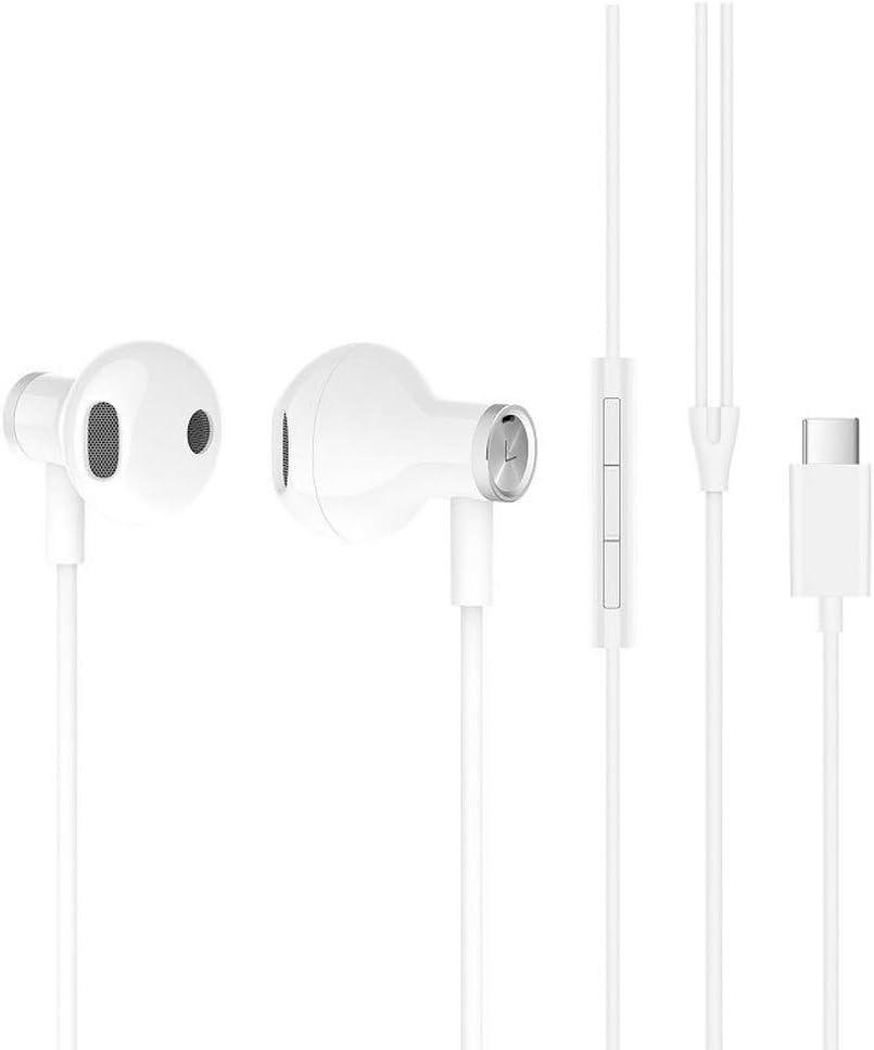 XIAOMI Auriculares Tipo C Blanco Audio HI-Res Y Conector Tipo C